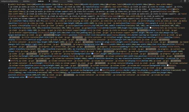 Δείγμα minified αρχείου CSS για να βελτιώσετε την ταχύτητα ιστοσελίδας σας